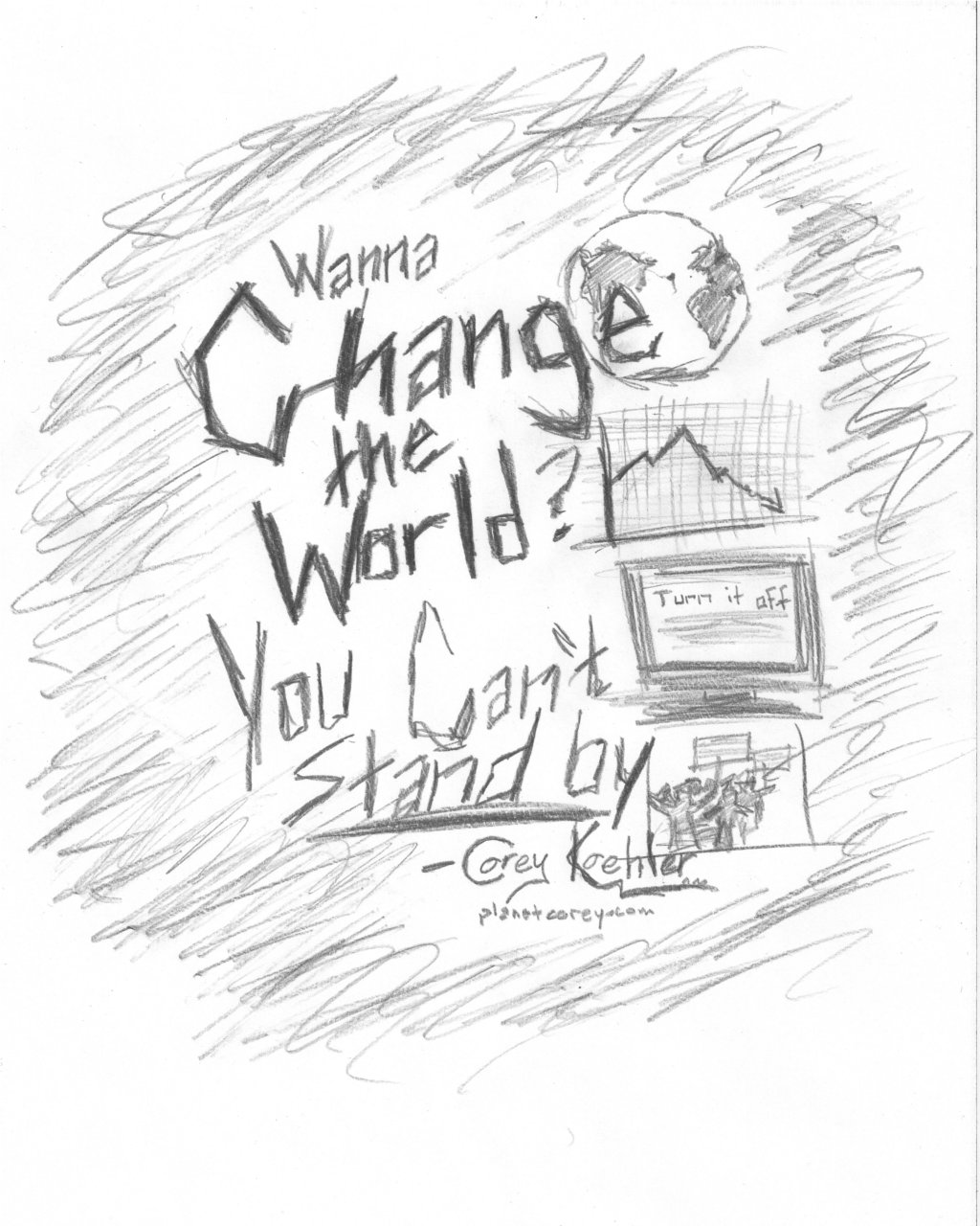 New Lyric Video for Change The World